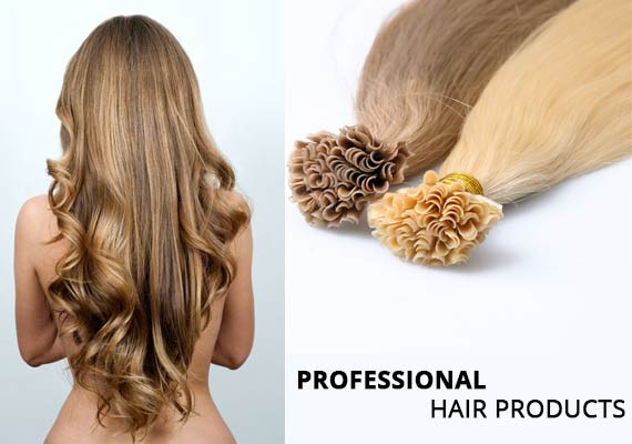 Pre Bonded Human Hair Extensions