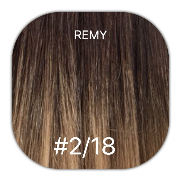 218 Ombre 18 20 1 Gram Itip Remy Range Mooi Hair Extensions