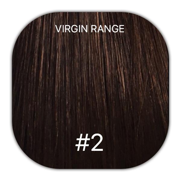 2 Dark Brown 20 Itip Virgin Remy Range Mooi Hair Extensions